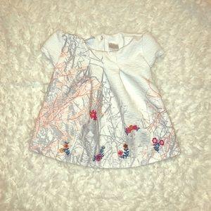 Toddler 12-18 months cream blouse